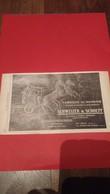 Ancienne Pub Suisse Schweizer Et Schoepf Le Locle La Chaux De Fonds 1914 - Advertising