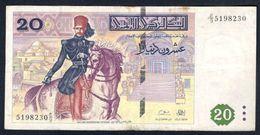 Tunisia - 20 Dinars 1992 - P88 - Tunisia