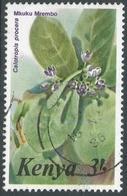 Kenya. 1983 Flowers. 3/- Used. SG 266a - Kenya (1963-...)