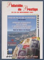 = Exposition Philatélique Internationale, Novembre 1197, Principauté De Monaco, Monte Carlo, - Altri