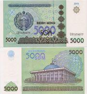 UZBEKISTAN      5000 Som       P-83       2013       UNC - Uzbekistan
