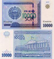 UZBEKISTAN      10,000 Som       P-New       2017       UNC  [ 10000 ] - Uzbekistan