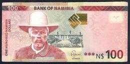 Namibia - 100 Dollars 2012 - P14 - Namibia