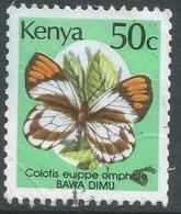 Kenya. 1988 Butterflies. 50c Used. SG 437 - Kenya (1963-...)