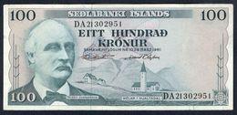 Iceland - 100 Kronur 1961 - P44a(11) - Iceland