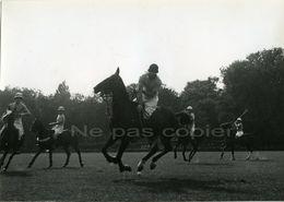 RENE ZUBER Polo Vers 1950 Tirage D'époque Alliance Photo - Photos