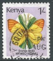 Kenya. 1988 Butterflies. 1/- Used. SG 440 - Kenya (1963-...)