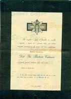 Padova-1903-nobile Giovanni Battista Valvasori AFFRANCATA COL 2 CENT. - Avvisi Di Necrologio