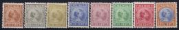 Netherlands East Indies : NVPH Nr 23 - 30  MH/* Flz/ Charniere  1892 - 1897 - Niederländisch-Indien
