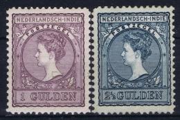 Netherlands East Indies : NVPH Nr 58 - 59  MH/* Flz/ Charniere  1906-1912 Veth - Niederländisch-Indien