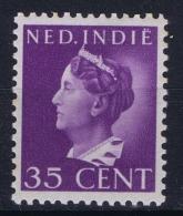 Netherlands East Indies : NVPH Nr 280 MH/* Flz/ Charniere 1941 - Niederländisch-Indien