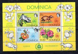 PC596b - DOMINICA , Il Foglietto Usato N. 13 - Dominica (1978-...)
