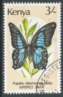 Kenya. 1988 Butterflies. 3/- Used. SG 443 - Kenya (1963-...)