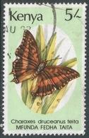 Kenya. 1988 Butterflies. 5/- Used. SG 446 - Kenya (1963-...)