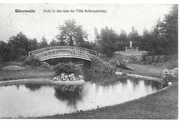 Westmalle, Zicht In Den Tuin Der Villa Scherpenberg, Verstuurd 1916? - Malle