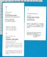 Bp   Wezemaal    Wouters   3 Stuks - Images Religieuses