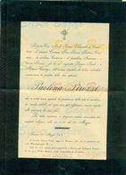 FIRENZE- PAOLINA PIROZZI- 1907 - - AFFRANCATA COL 5 CENT. - Avvisi Di Necrologio