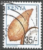 Kenya. 2001 Crops. 35/- Used. SG 777 - Kenya (1963-...)