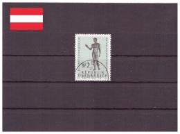 Autriche 1968 - Oblitéré - Sculpture - Michel Nr. 1268 Série Complète (aut1048) - 1961-70 Used