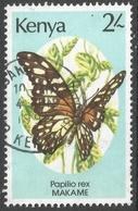 Kenya. 1988 Butterflies. 2/- Used. SG 441 - Kenya (1963-...)