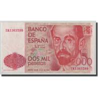 Billet, Espagne, 2000 Pesetas, 1980, 1980-07-22, KM:159, TTB+ - [ 4] 1975-… : Juan Carlos I