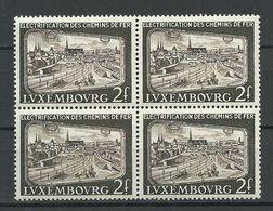 LUXEMBOURG 1956 Michel 558 Als 4-Block MNH - Nuevos