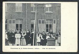 +++ CPA - ARDOOIE  ARDOYE - Pensionnat De La Sainte Enfance - Cour De Récréation  // - Ardooie