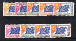 FRZ52 - FRANCIA 1963, Servizi La Serie N. 27/35 *** MNH - Servizio
