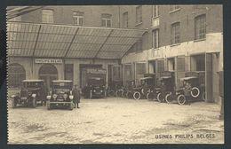 +++ CPA - Carte Publicitaire Pub Publicité Usines Philips Belges à LESSINES - Service De Livraison Automobile - Nels  // - Lessines