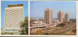 """Moldova - Postcard Unused  1985 - Chishinau -  """" Cosmos """" Hotel - Moldova"""