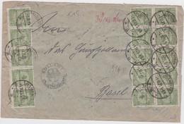 ALLEMAGNE 1923 LETTRE DE ELSTERBERG - Deutschland