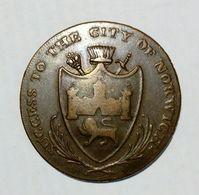 NORWICH - HALF Penny Token ( 1792 ) / Copper - Monetary/Of Necessity