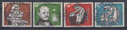 Bundesrepublik 1956 Mi# 243-246 Gestempelt (BU4111) - BRD