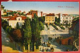 CROATIA - HRVATSKA, POLA - PANORAMA K.U.K. ZENSURSTELLE POLA 1917 - Croazia