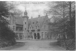 Schootenhof, Château De Villers, Verstuurd 1909 - Schoten
