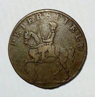PETERSFIELD - HALF Penny Token ( 1793 ) / Copper - Monetari/ Di Necessità