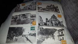 6 Cartes Postales - Postcards