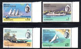 R795 - INDIAN OCEAN TERRITORY / OCEANO INDIANO 1969, Serie  32/35  Usata . - Territorio Britannico Dell'Oceano Indiano
