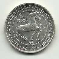 1996 - Italia 10.000 Lire Repubblica - Commémoratives