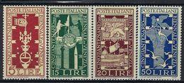 Italie, N° 532 à 535 * TB - 6. 1946-.. Republic