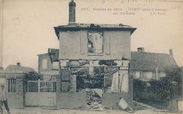 IVERNY - N°247 - GUERRE DE 1914 - IVERNY APRES LEPASSAGE DES ALLEMANDS (AVEC CACHET 58e RGT TERRITORIAL D'INFANTERIE) - France