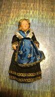 Poupée De Collection Authentique Année 30 40 50 - Vêtement / Costume Traditionnel - Femme Religieuse Robe Coiffe - Dolls