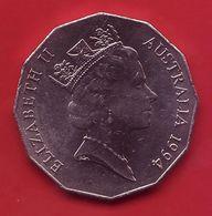 - AUSTRALIE - 50 Cents - 1994 - - Monnaie Décimale (1966-...)