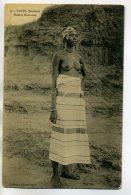 SOUDAN KAYES Coll Albaret-  Femme KASSONKE Chemisier Baissé  Poitrine Nue   - Ethnic NUDE  - /D05-2018 - Sudan