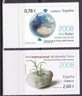 2008,  Spanien, 4292/93, Internationales Polarjahr/Jahr Des Planeten Erde, MNH ** - 2001-10 Unused Stamps