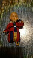 Poupée De Collection Authentique Année 30 40 50 Homme Costume Traditionnel - Dolls