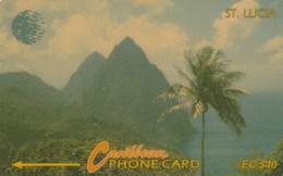 Saint Lucia - Pitons - 9CSLC - Saint Lucia