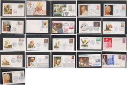 Lot 21 Enveloppes  Pape Jean Paul II - Autres - Europe