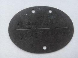 Plaque D'identité Allemande Erkennungsmarke WW2 German ID / Dog Tag 25 - 1939-45
