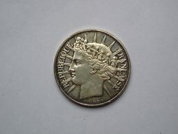 1 Pièce  100 Francs Argent  1988 - N. 100 Francos